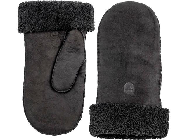 Hestra Sheepskin Hanskat Naiset, black